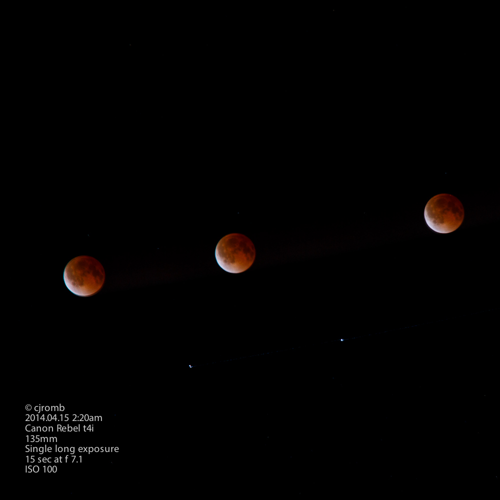 Blood Moon Total Eclipse - 2014.04.15 - Skipping Ahead